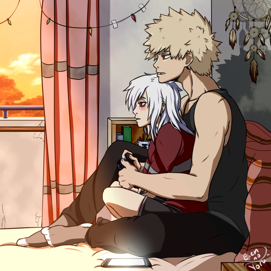. Just want to play videogames . by EiennoYoru Anime