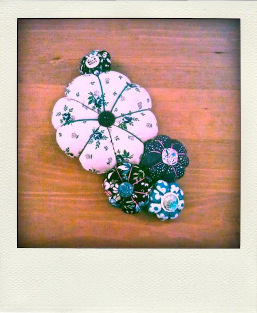 TUTO broche fleurs japonaises