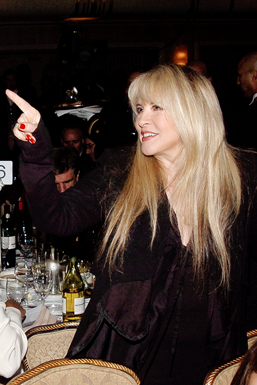 """""""Stevie at 20th Annual Rock and Roll Hall of Fame induction ceremony and after-party, March 14, 2005 """" HQ copies: X"""