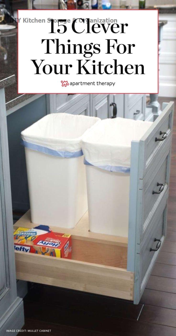 Photo of 13 DIY-Ideen für die Aufbewahrung in der Küche #kitchen