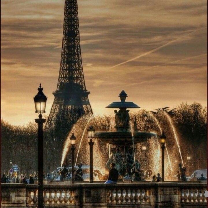 Paris my love.