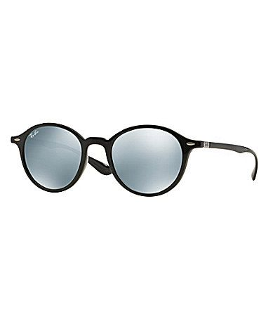 28095c13130e RayBan Phantos Round Mirrored Sunglasses  Dillards