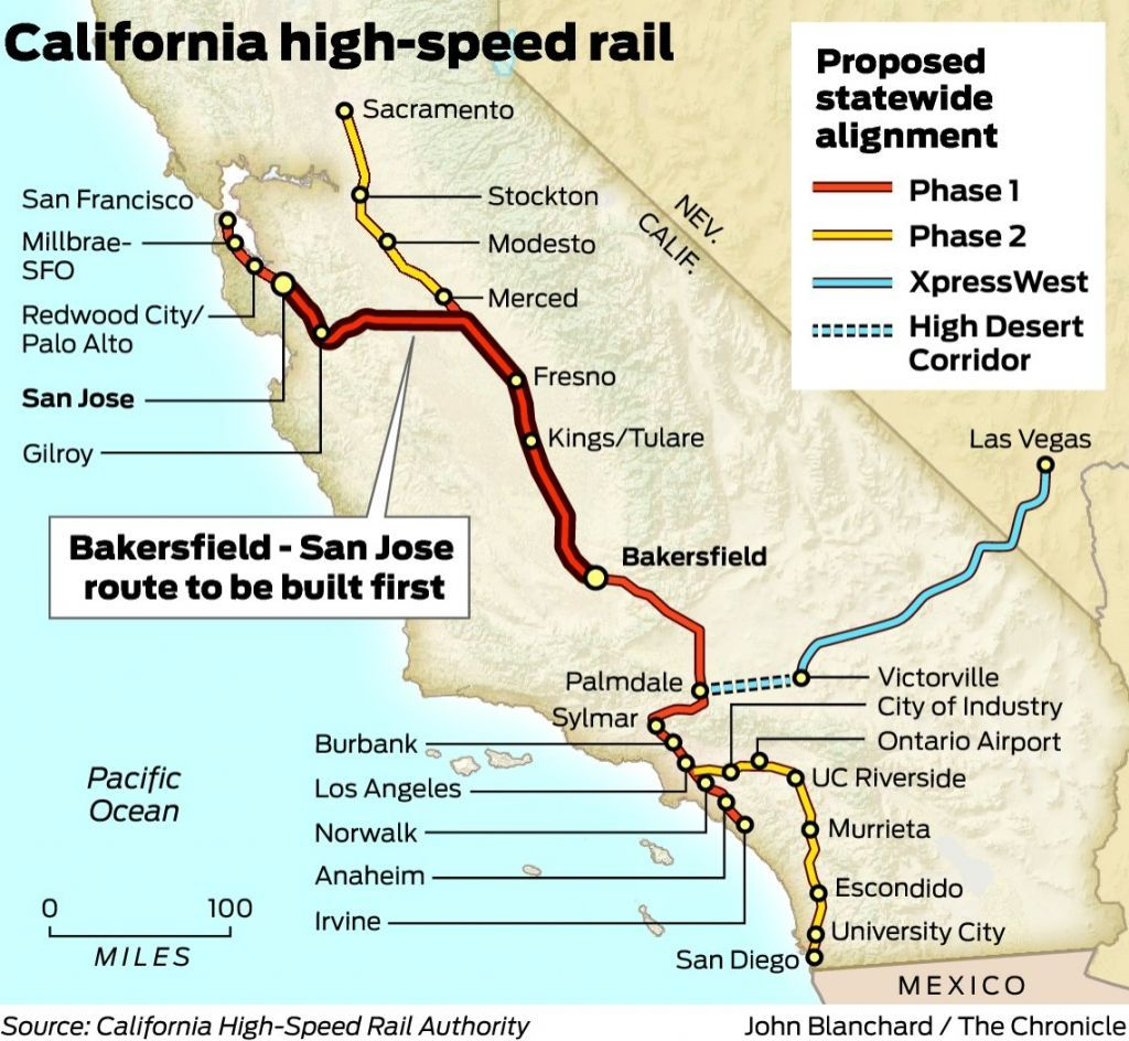 Map Of California High Speed Rail.This Will Be So Awesome And Needed California High Speed Rail