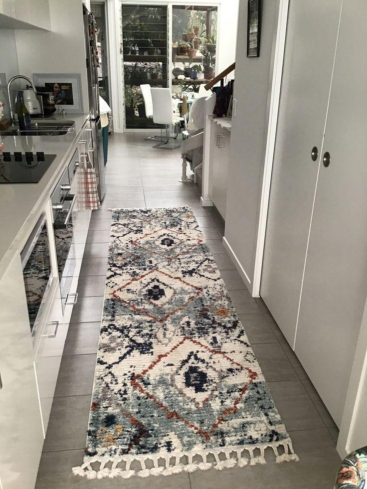 Morroco Sundown Blue Runner Rug Rugs, Rugs on carpet