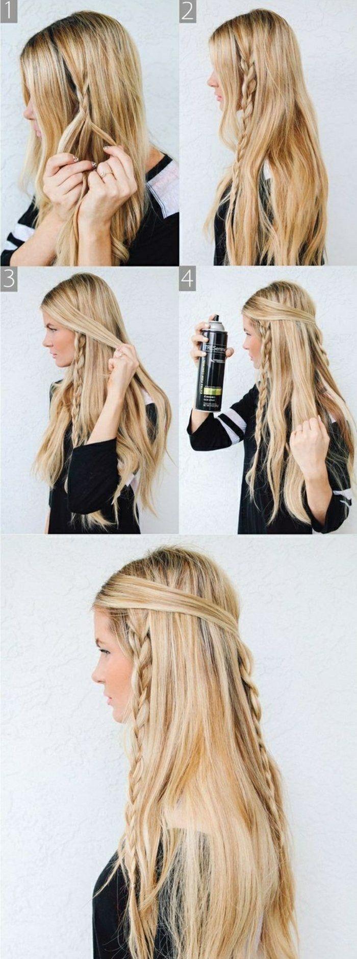 1001+ tutos et photos inspirants pour une coiffure viking