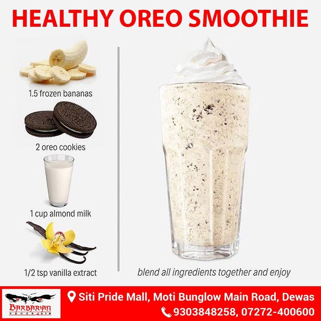Healthyfood Health Healthy Healthylifestyle Healthyrecipe Healthybreakfast Healthyrecipes H Vegan Milkshake Recipes Oreo Smoothie Easy Smoothie Recipes