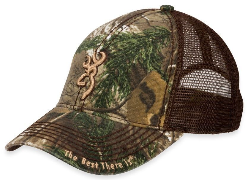 New Browning Hat Cap Bozeman Mesh Back Brown Realtree Xtra 308367241 in  Clothing d6ff4107b746