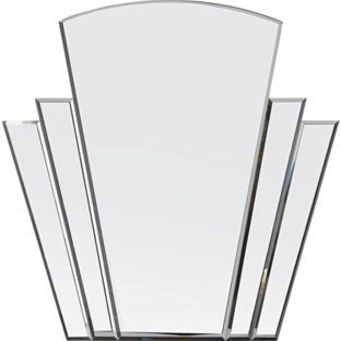 Heart of House Olivia Art Deco Wall Mirror