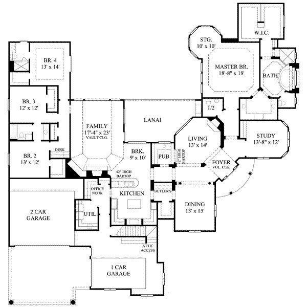House Plan Southern House Plans European House Plan Monster House Plans