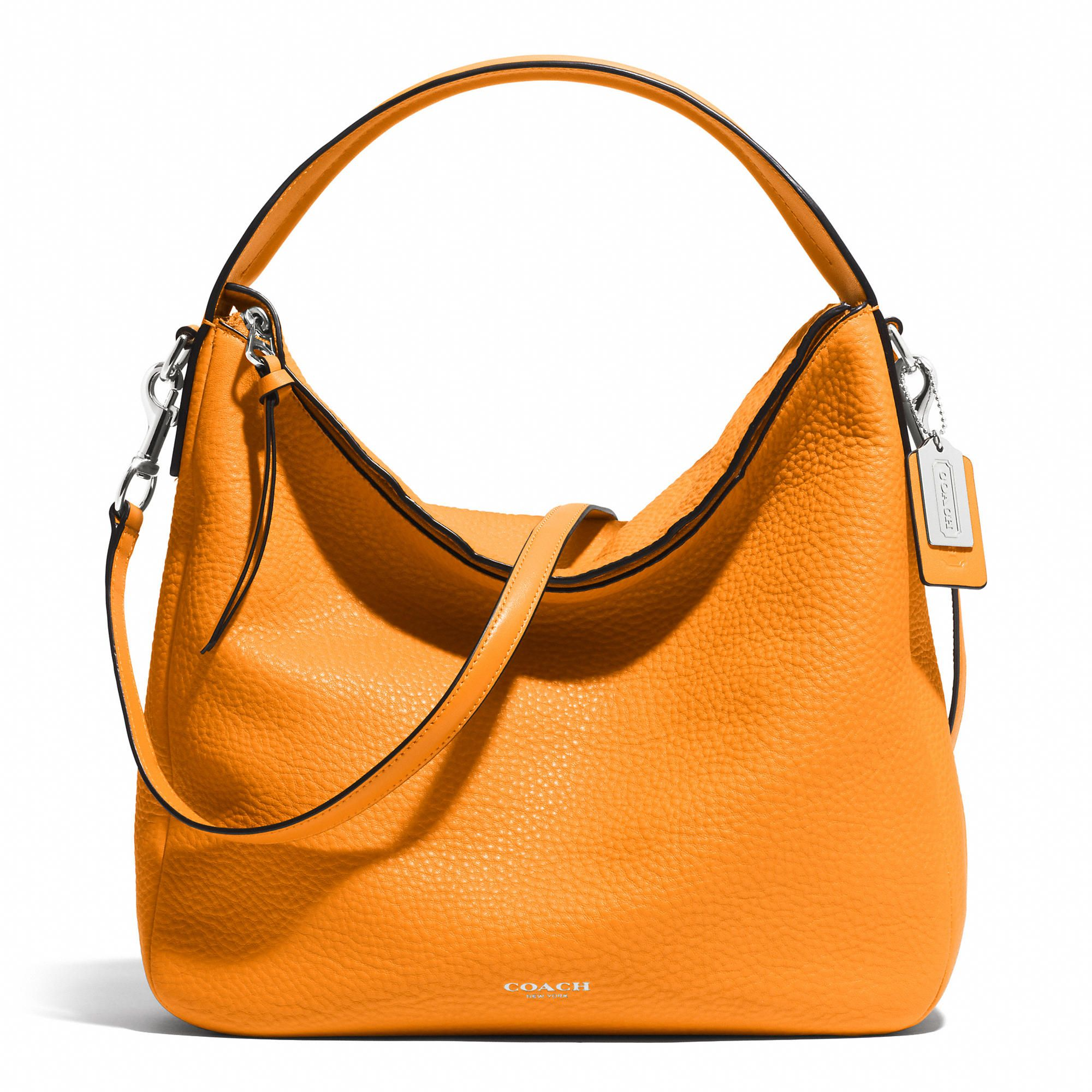 15800e1d0d Coach    BLEECKER SULLIVAN HOBO IN PEBBLED LEATHER