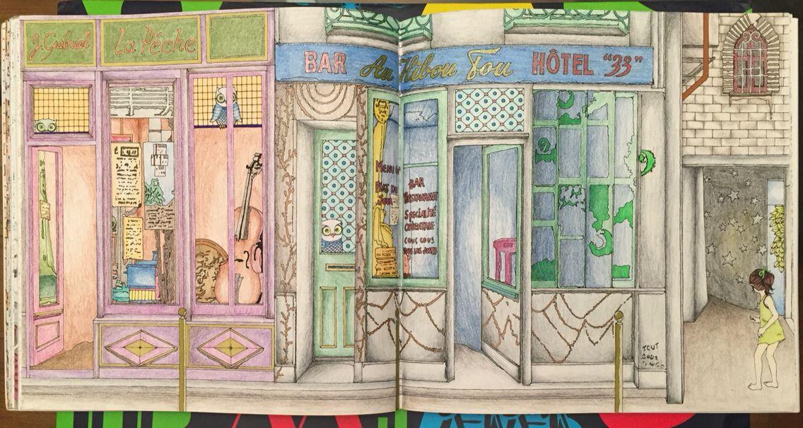 The Time Garden Coloring Book Daria Song Thetimegarden Dariasong Hide And Seek Gardens Coloring Book Coloring Books World Of Color