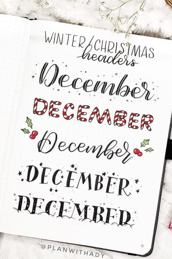 35+ Best Bullet Journal Header & Title Ideas For 2019 - Crazy Laura #aestheticnotes