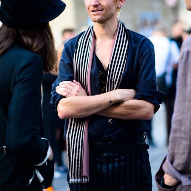 #Le21eme x #AdamKatzSinding •  www.Le21eme.com •  @AndrewDryden #AndrewDryden #Paris #SS16 #FashionWeek #PFW #France #French #Men #Menswear #Street #Style #StreetStyle #Fashion #Mode #Moda #NoFilter #HaiderAckermann