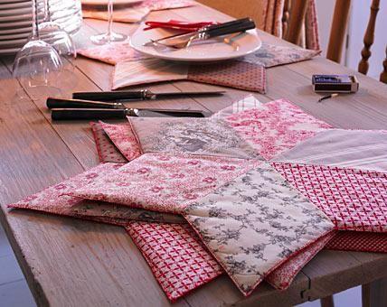 deko mit sternen ideen zu weihnachten und selber machen gro er deko stern im patchwork look. Black Bedroom Furniture Sets. Home Design Ideas
