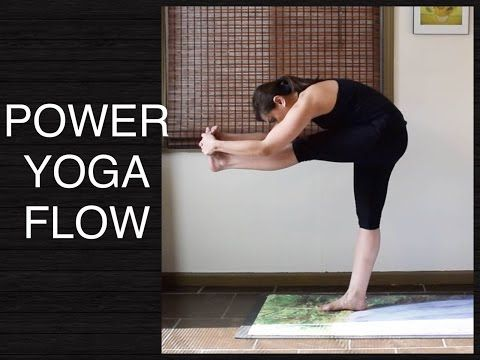 intermediate vinyasa flow yoga for strength flexibility