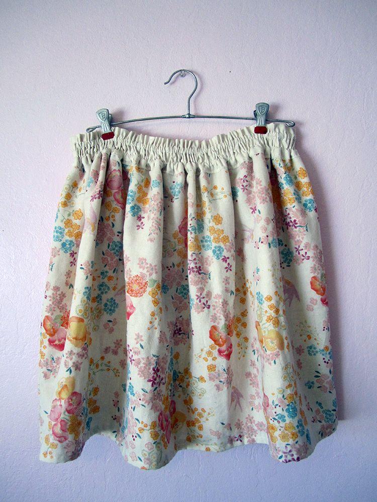 Simple Double Gauze Skirt Tutorial! | DI Wise. | Pinterest ...