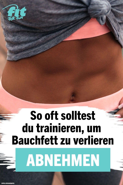wie oft trainieren zum abnehmen