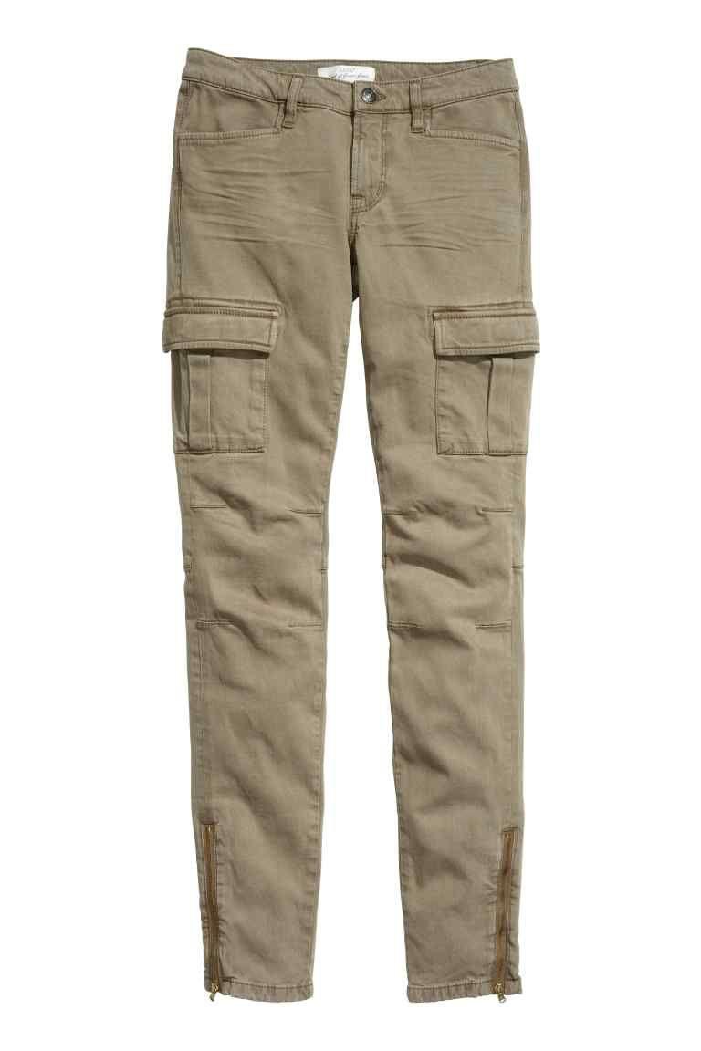 46269cd17 Pantalón cargo mezcla lyocell   H&M   Things to Wear   Pantalones ...