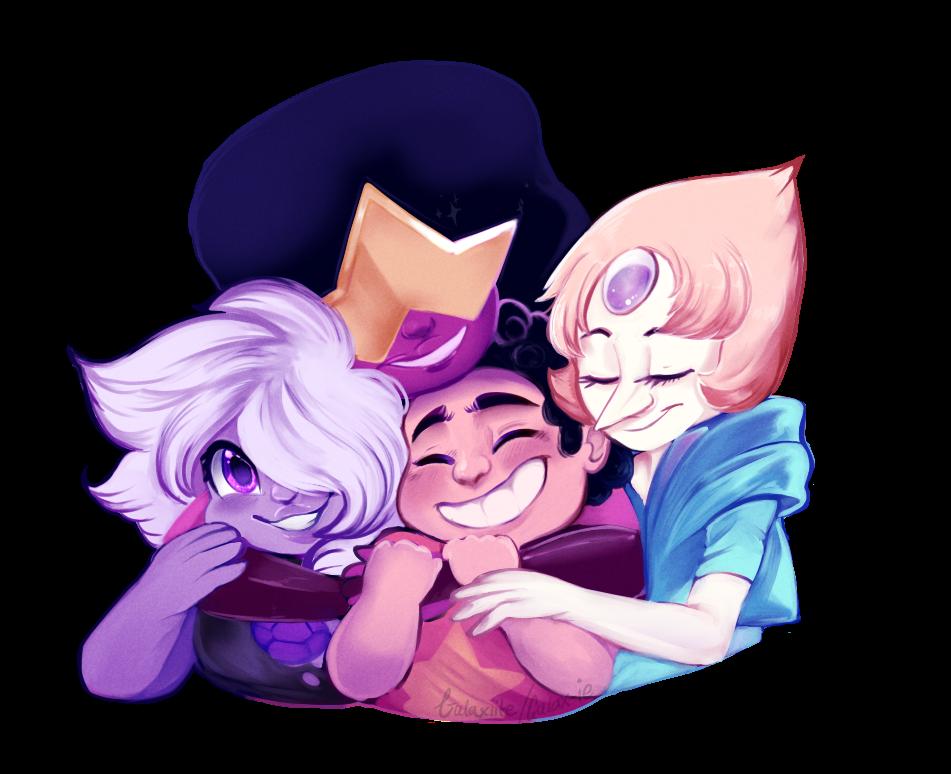 Group Hug by galaxie Steven universe fanart