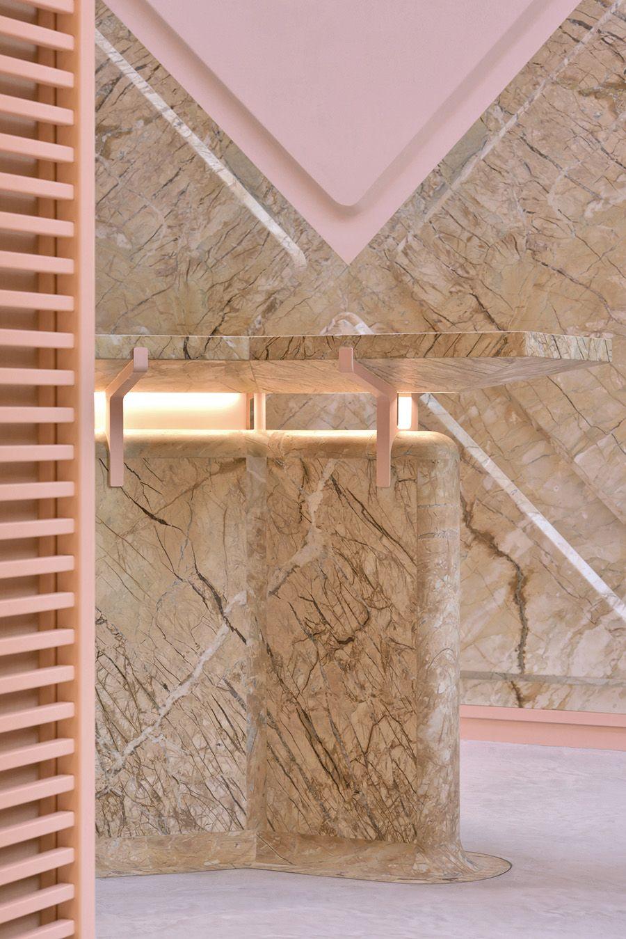 Xyz Lounge Zeebrastraat Ghent Belgium The Cool Hunter Marble Surface Pink Marble Marble Bar
