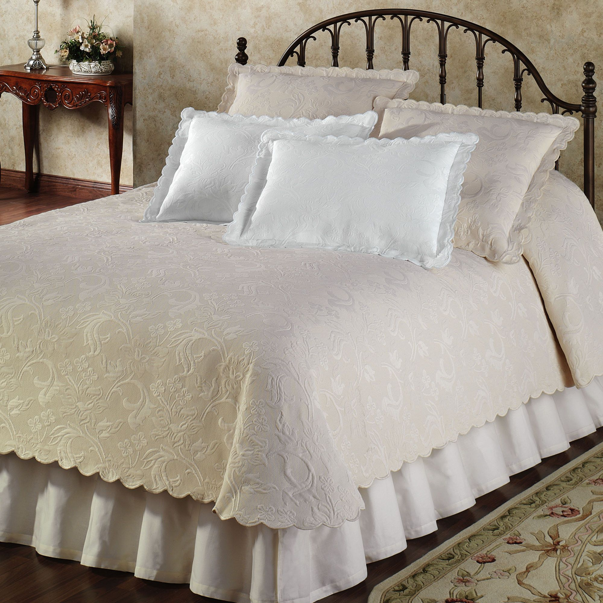 Bed Coverlet Botanica Woven Matelasse Coverlet Christmas List Pinterest