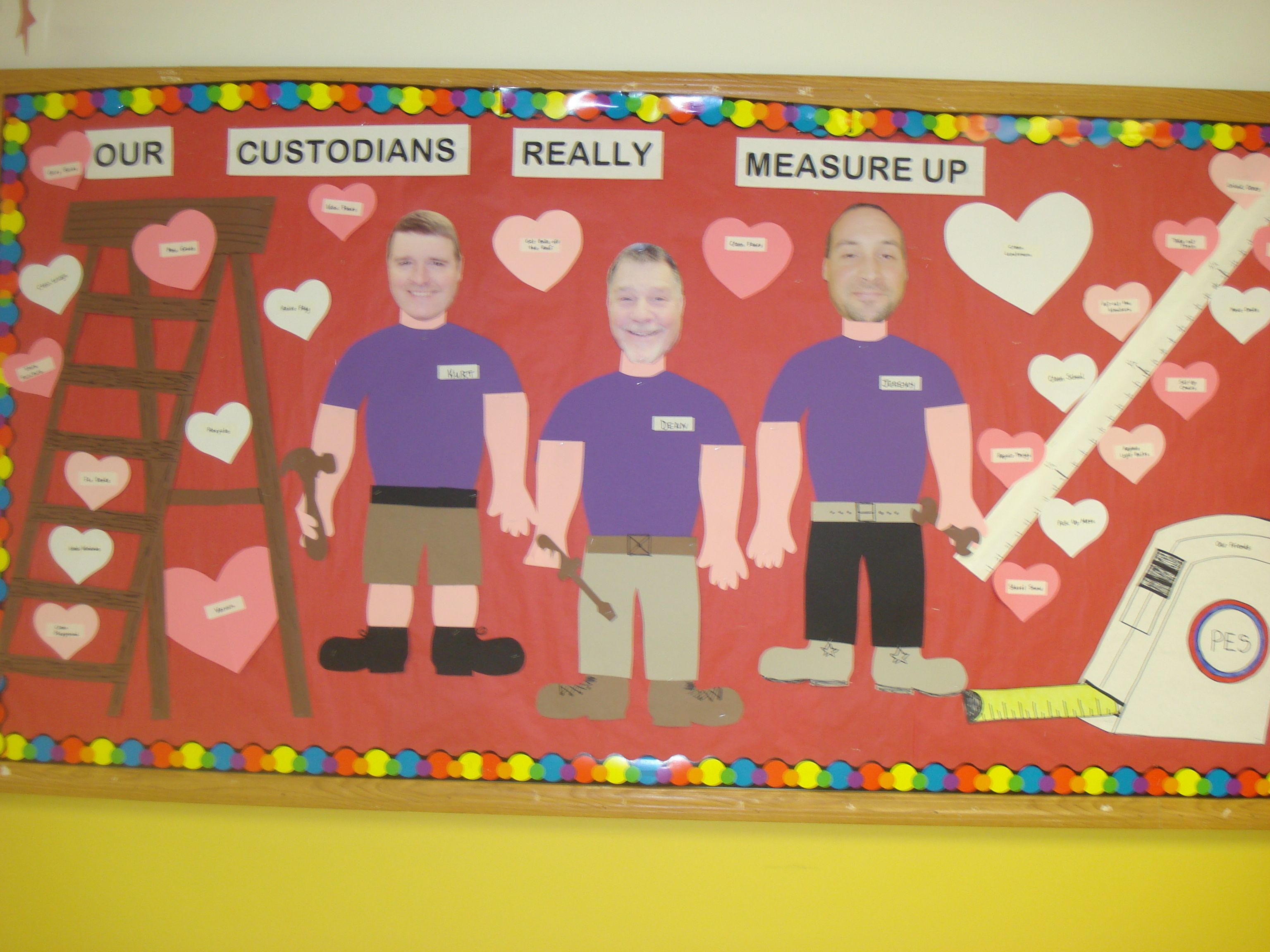 custodians appreciation day pta crafts creative appreciation to our custodians all the things they do are on the hearts