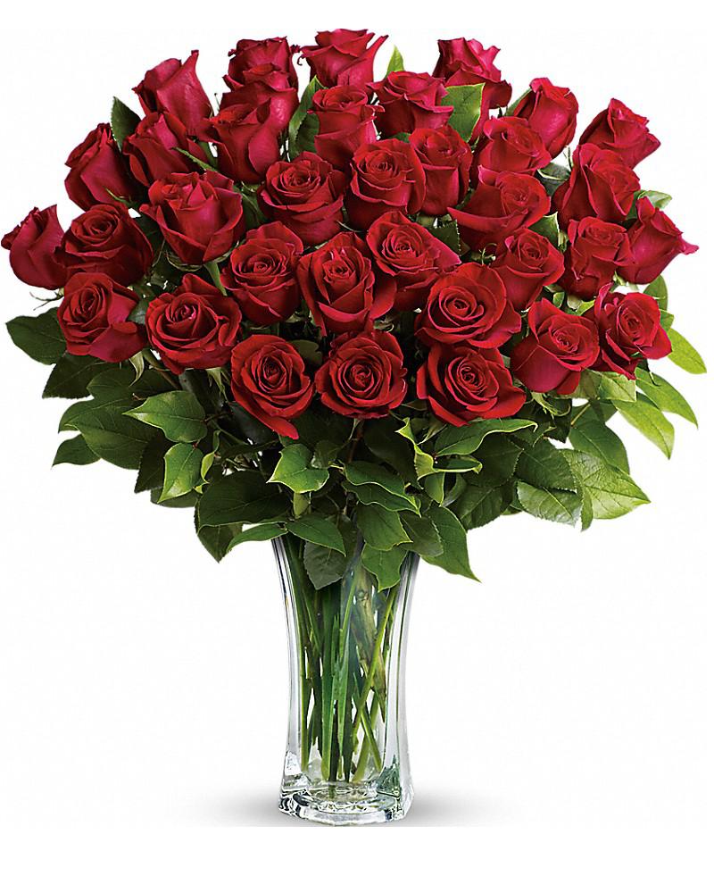 картинка букет роз с днем рождения на прозрачном фоне