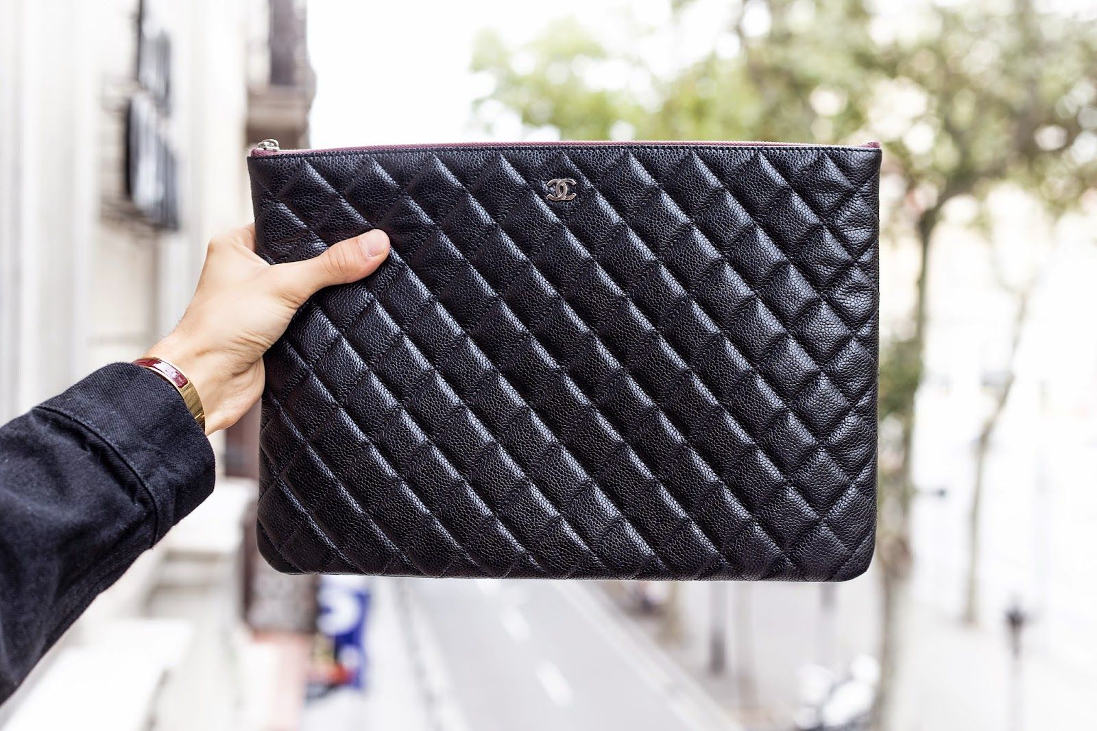 df734d697f9b53 CHANEL O-Case Chanel Clutch, Chanel Handbags, Clutch Bags, Handbags For Men
