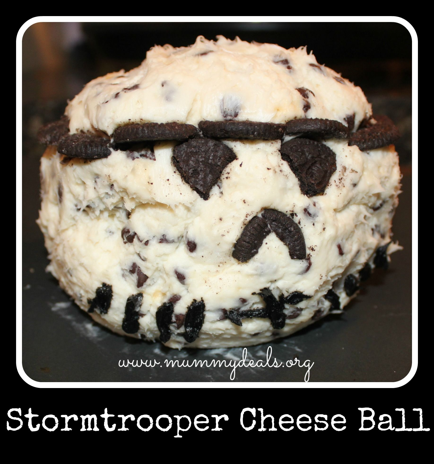 This Stormtrooper Cheese Ball Was A HUGE Hit At My Son's