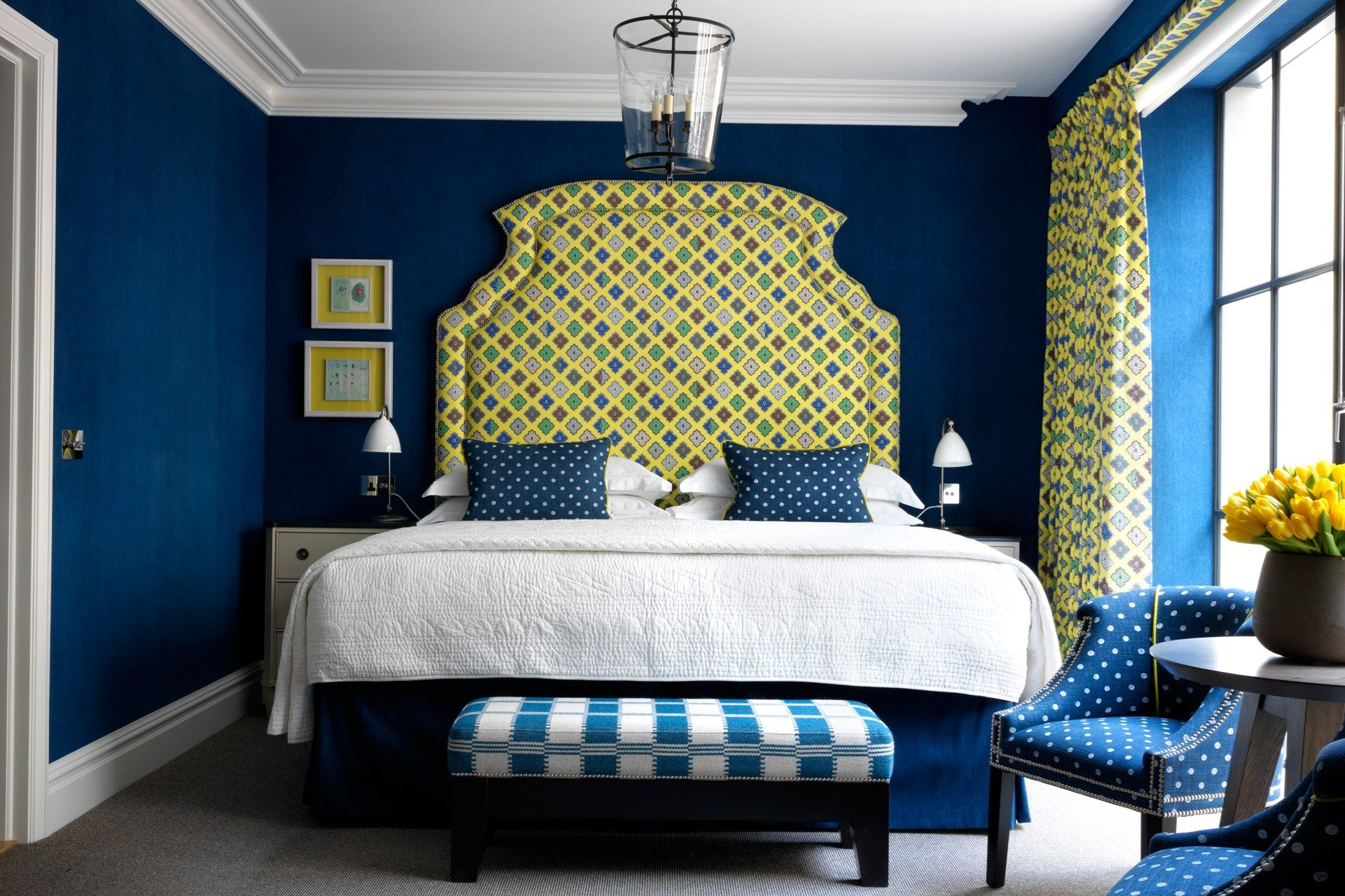 107 idées de déco murale et aménagement chambre  coucher