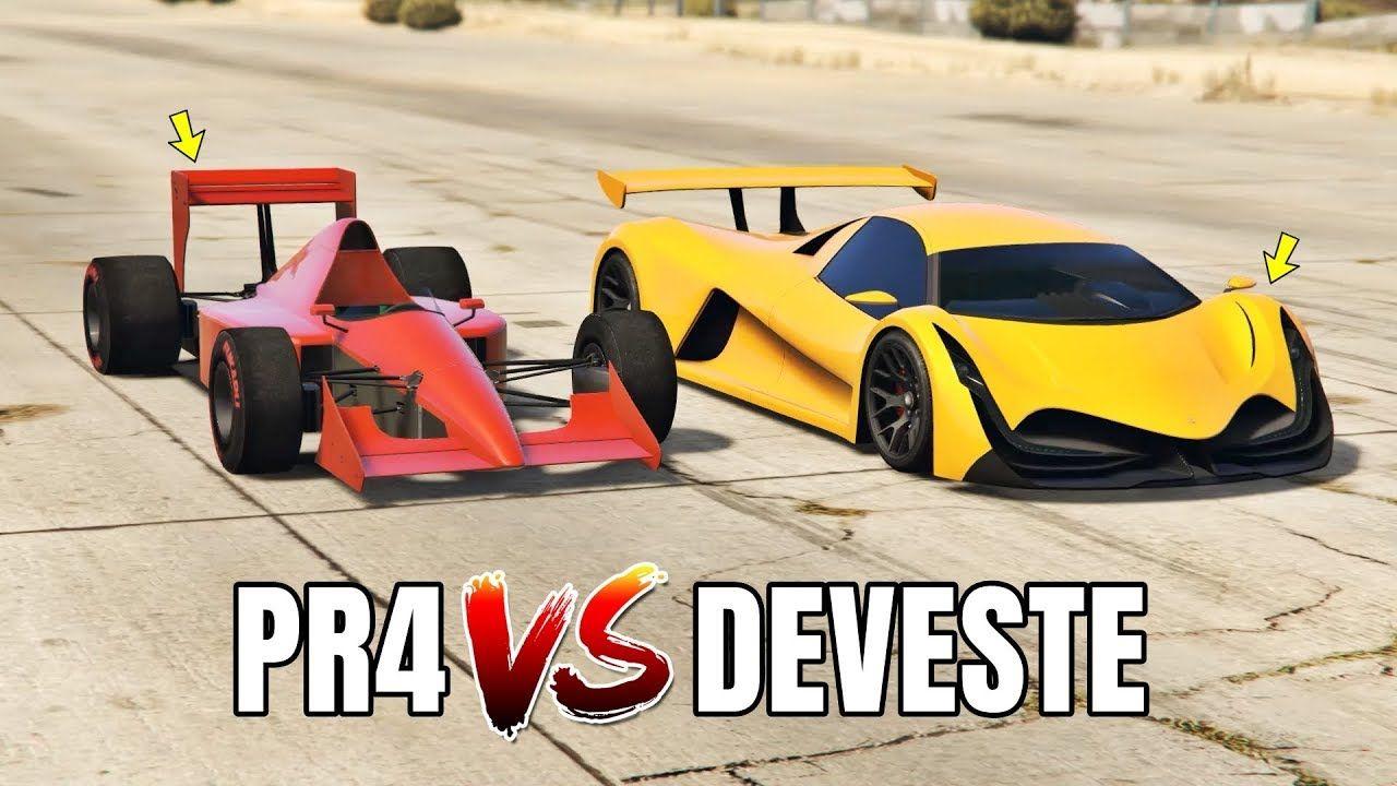 Gta V Online Progen Pr4 Vs Deveste Eight Which Is Fastest Formula Gta Super Cars Gta 5