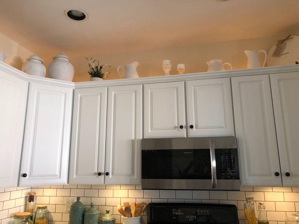 Above Kitchen Cabinet Idea Above Kitchen Cabinets Kitchen Interior Projects