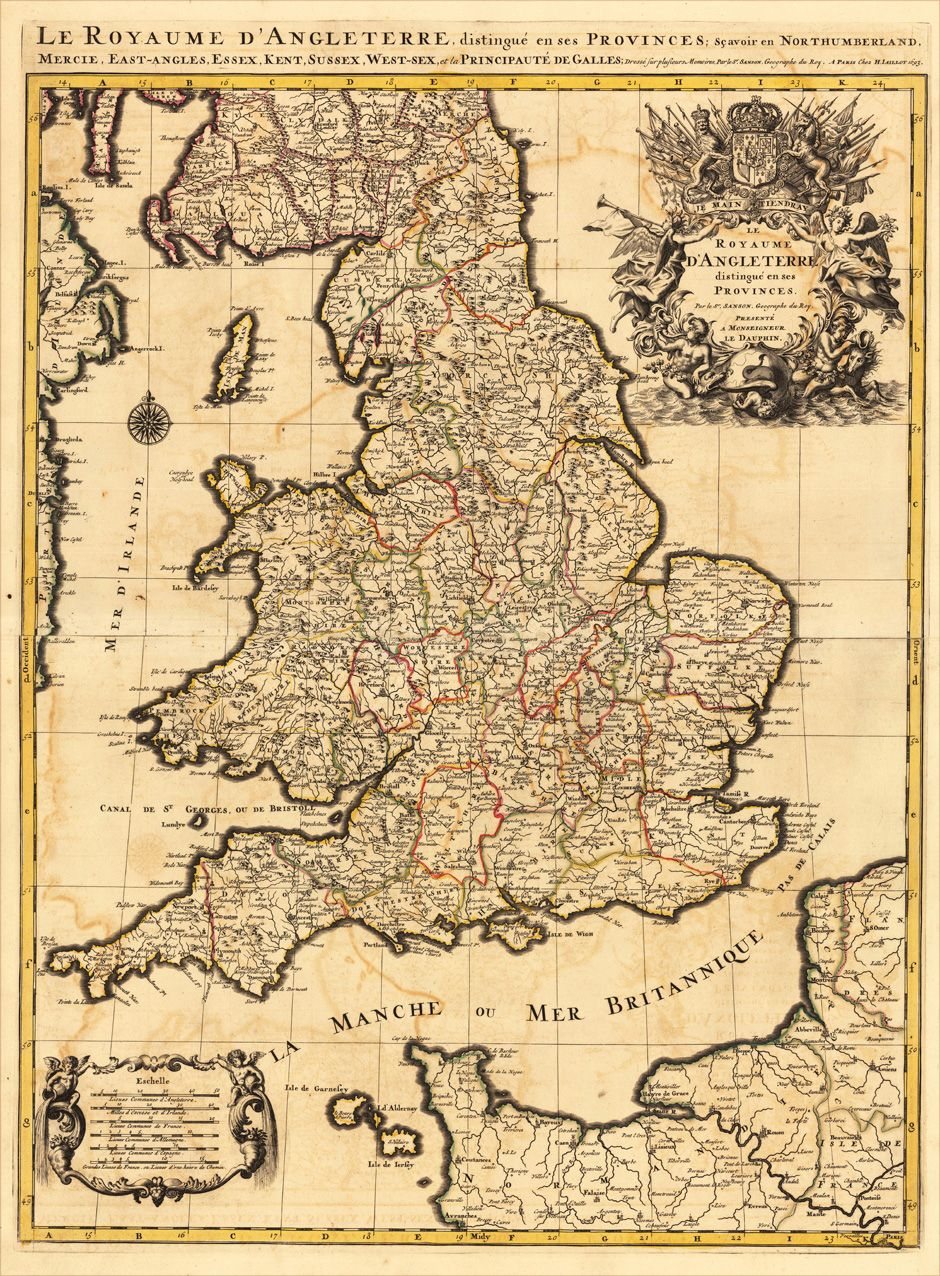 1748401.jpg (940×1276) Old maps, Map, Wales england
