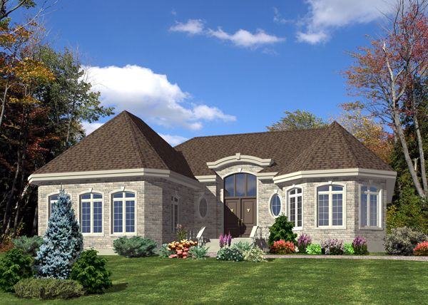 Bungalow House Plan 48227 Elevation