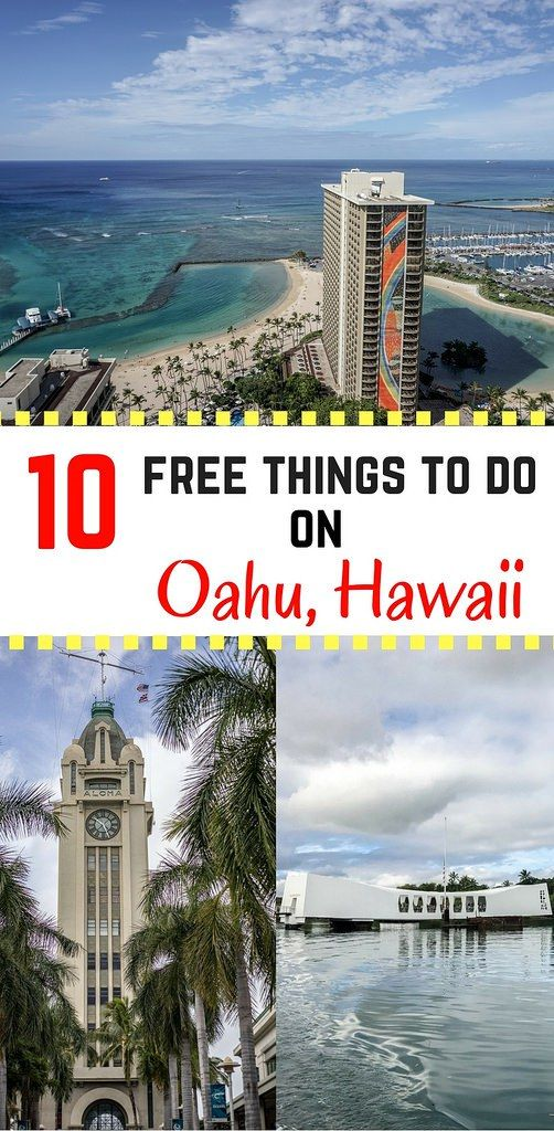 Get the most out of your Hawaii vacation by visiting these 10 places for FREE! Oahu, Hawaii #Hawaii #MustTryInHawaii | Wanderlustyle.com