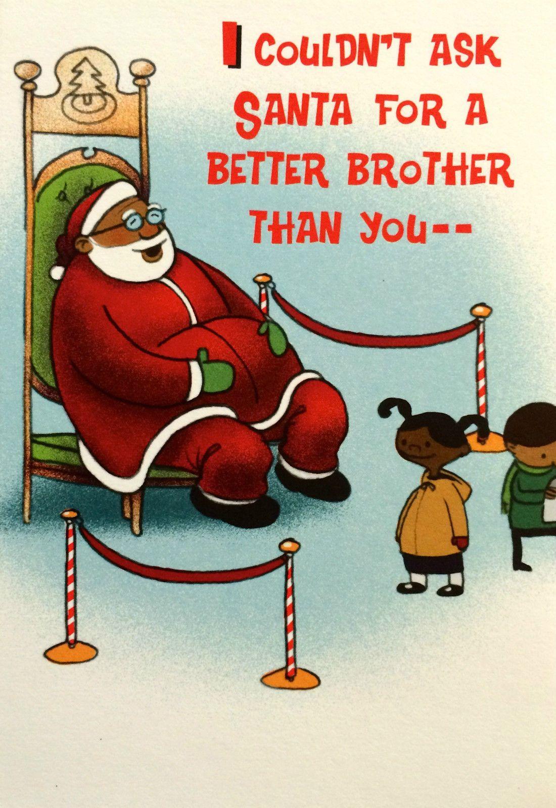 Vintage Mahogany African American Black Christmas Card Ebay