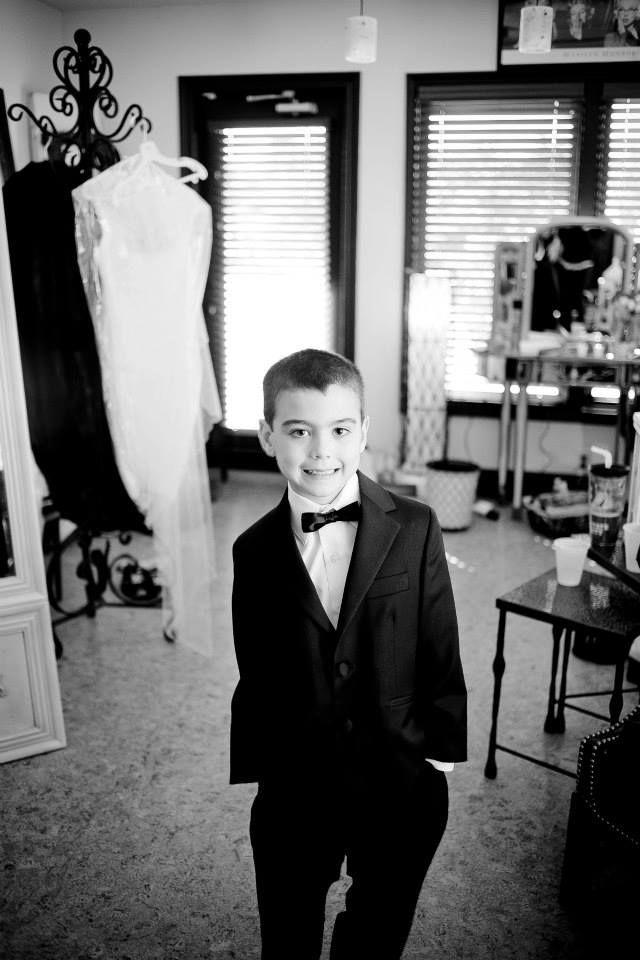 Bow tied ring bearer #mirabelphotography