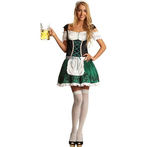 Foxy Fraulein Adult Halloween Costume Halloween  Walmart
