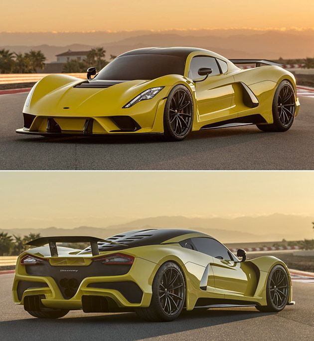 Hennessey Venom F5 Has 1,620HP Twin Turbo V8, Can Hit A