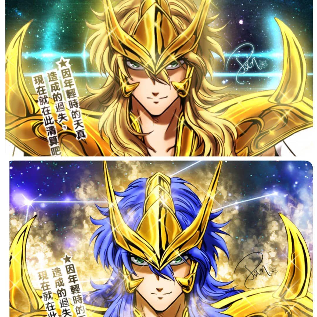 Dibujo De Un Escorpion Dorado milo de escorpio. versión manga y anime. *créditos al autor