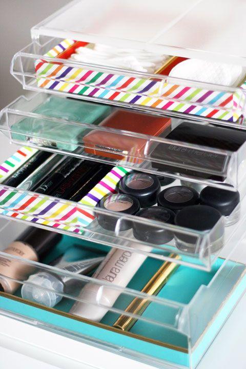 accesorios para guardar maquillaje