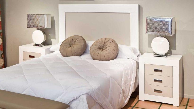 Dormitorio matrimonio lacado completo | Dormitorio | Pinterest ...