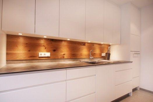Küchenspiegel Holz ~ Ideen für die küchenrückwand u glas metall fliesen holz