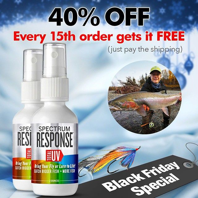 Now 39 s the time to get your hands on spectrum response we for Black friday fishing deals