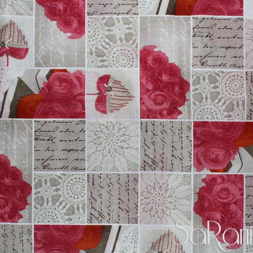 Telo arredo copritutto gran foulard copriletto copridivano cotone rosso rose divano o letto o - Gran foulard divano ...