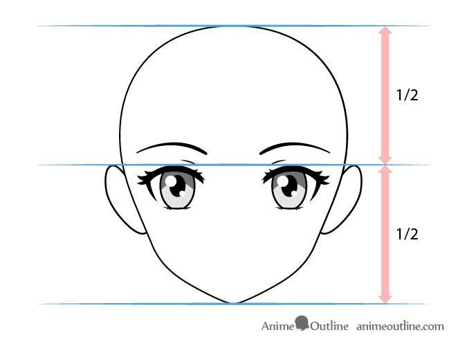 How To Draw Female Anime Eyes Tutorial Animeoutline Female Anime Eyes Anime Eyes How To Draw Anime Eyes