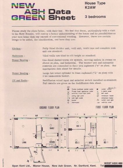 span k2aw house type floor plans and data sheet - Cylinder Home Floor Plans
