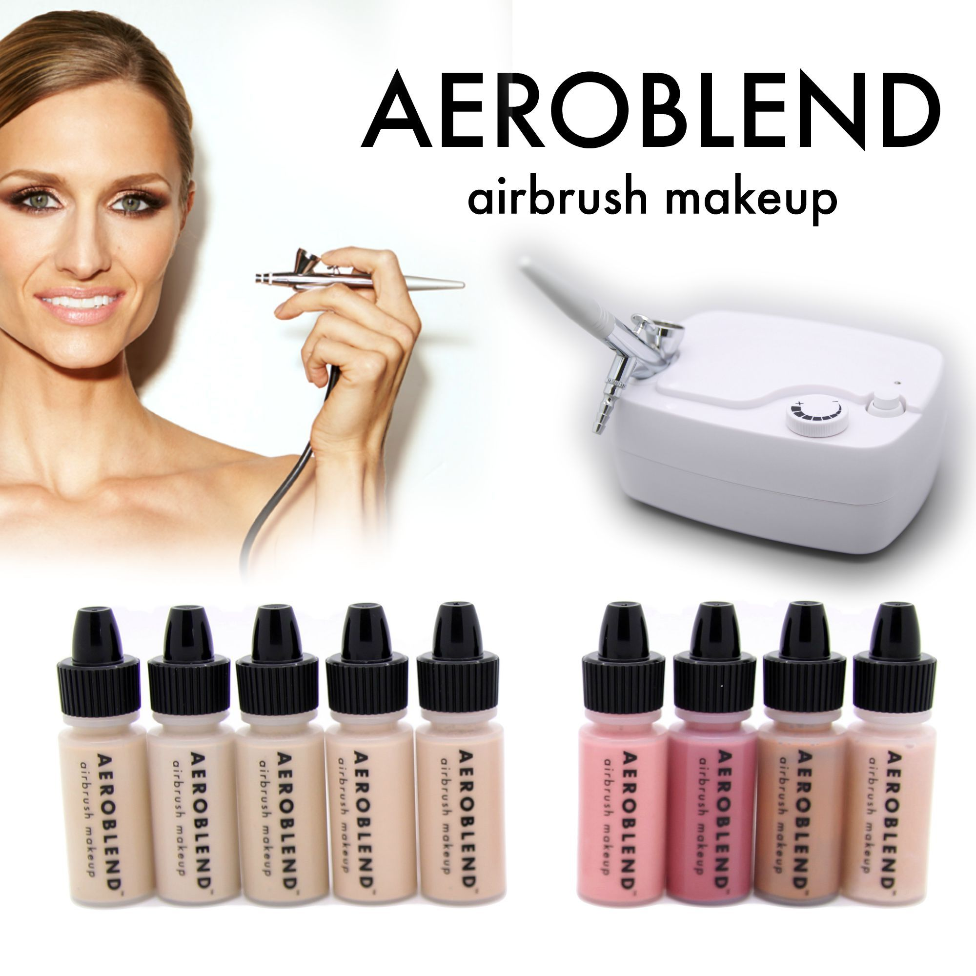 Fast, flawless, easy! Aeroblend airbrush Personal Starter