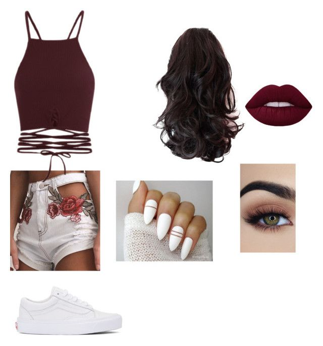 """""""Untitled #60"""" by lola-lf on Polyvore featuring Vans"""