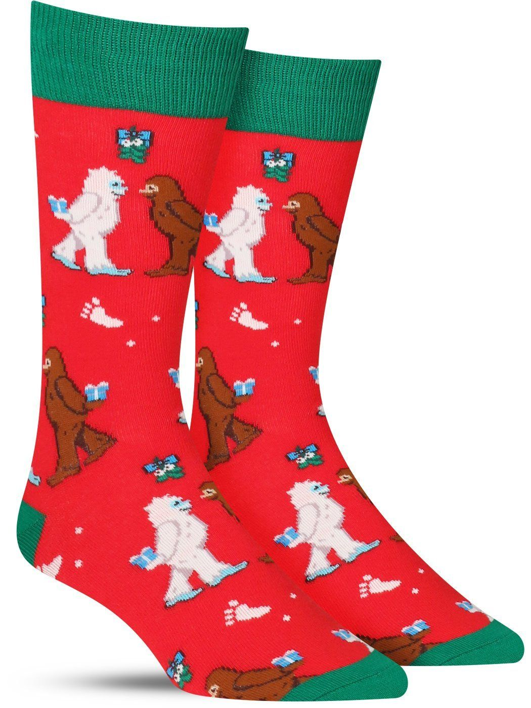 b972fa0d30ef Mythical Kissmas Christmas Socks | Mens | Dress | Socks, Christmas ...